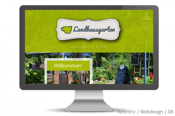 Referenz Webdesign Unternehmer Cafe Restaurant Appartements Natur